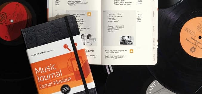 MOLESKINE MUSIC JOURNAL
