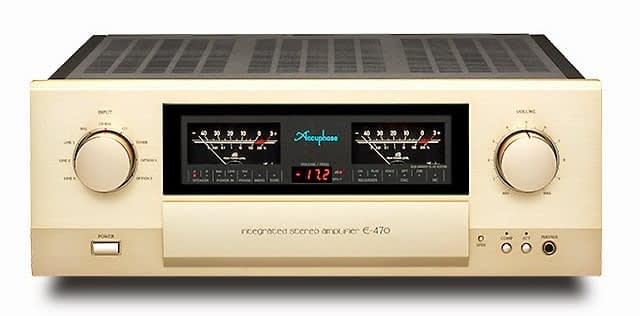 ACCUPHASE E-470 & C-37