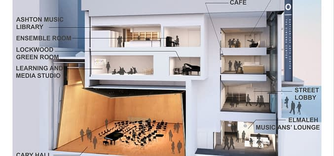 THE DiMENNA CENTER FOR CLASSICAL MUSIC