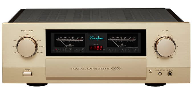 ACCUPHASE E-360 & C-2820